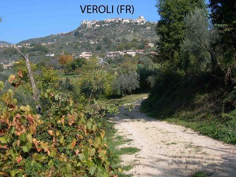Veroli, casale con rudere e terreno