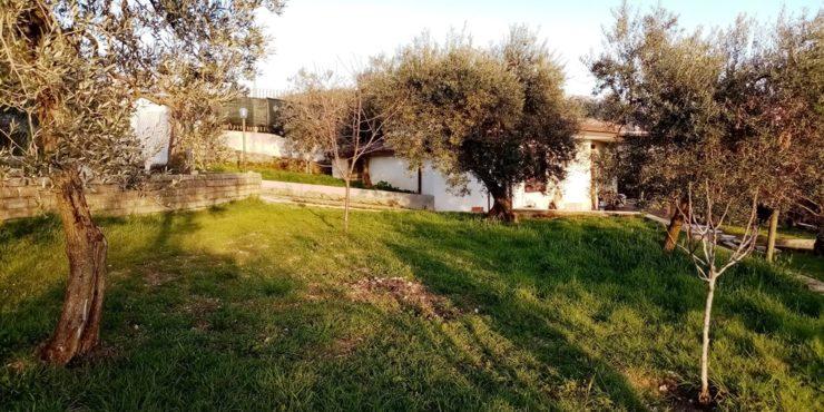 Veroli, casa con terreno e pertinenze in posizione panoramicissima.
